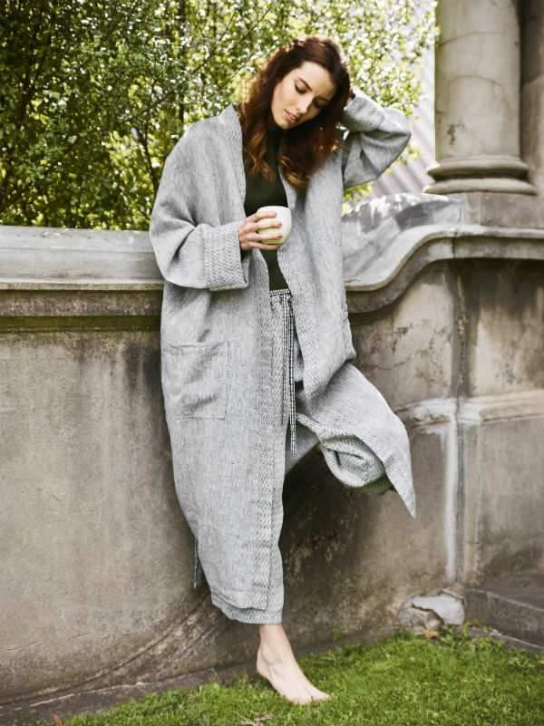 House Coat-Lounge Wear-Sheets on the Line