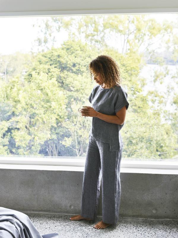 Linen Pj's - Sheets on the Line