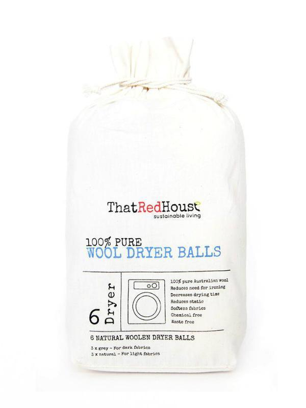 Wool Dryer Balls - 6pk-Cleaning Goods-Sheets on the Line