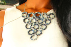 Denim Chic Necklace (Small)
