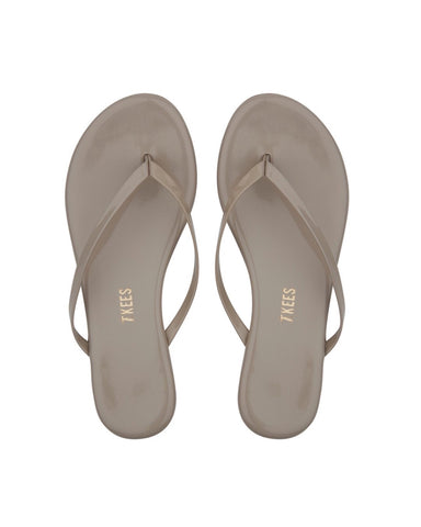The Custard Gloss Flip Flop
