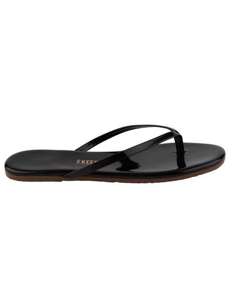 The Licorice Gloss Flip Flop