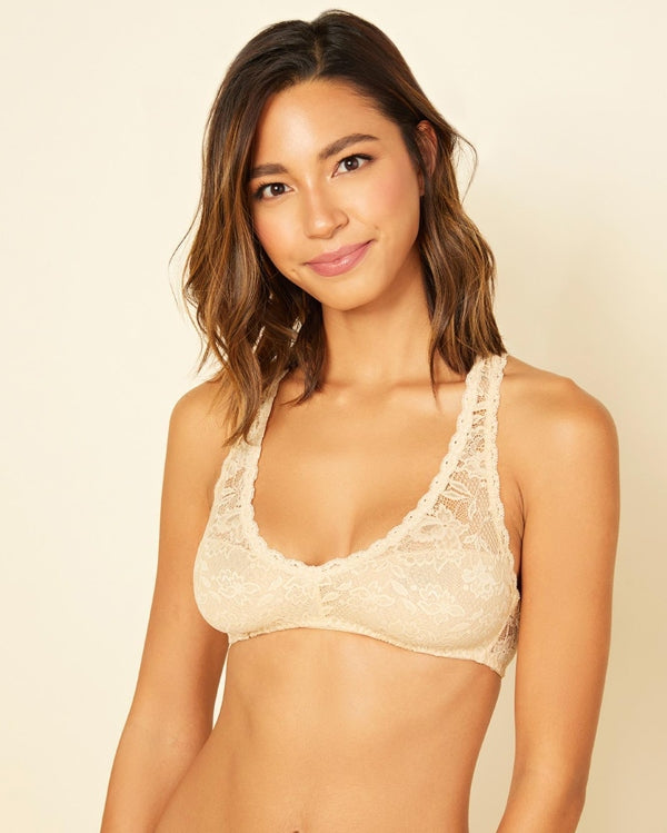 Lace Racer Back Bra