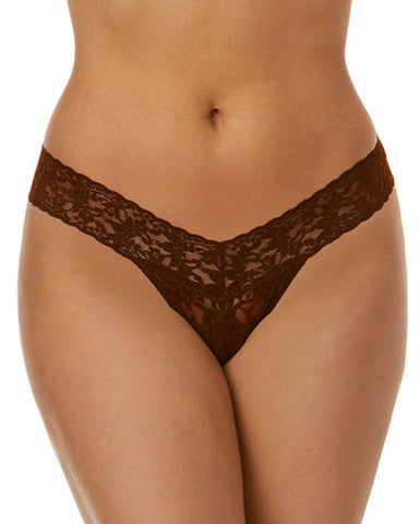 Low Rise Thong - Dark Cocoa