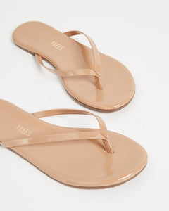 The Cocobutter Gloss Flip Flop