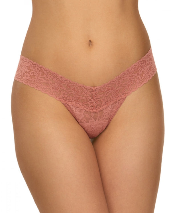Low Rise Thong - Pink Salt