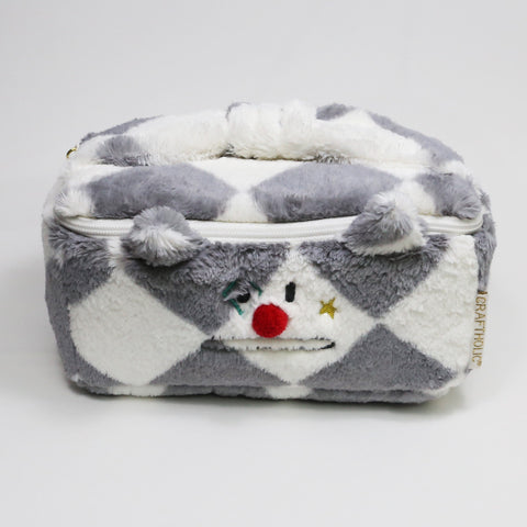 AS4948-80   Pierrot Korat Cosmetic Pouch - Sale 40%
