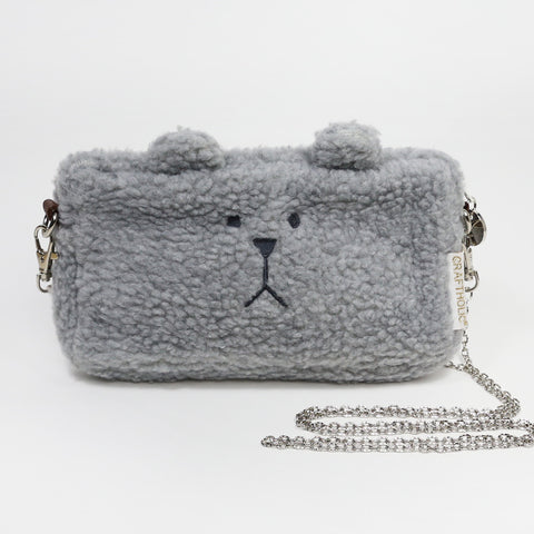 AS7313-2 MOCO SLOTH GRAY SLING POUCH HORIZONTAL