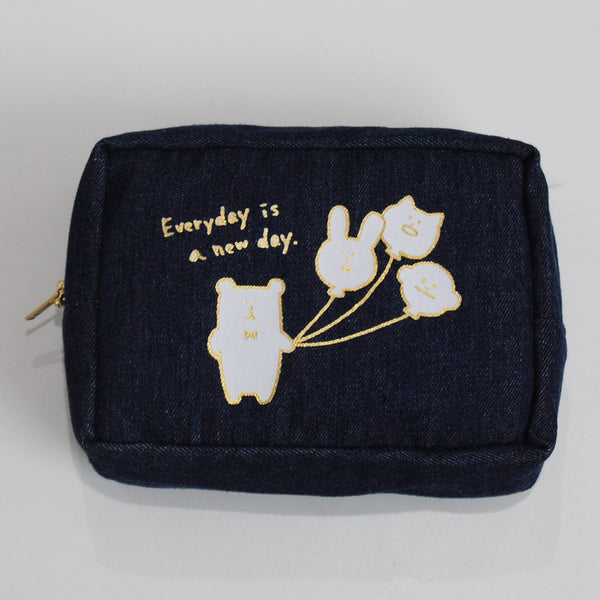 AS905-0	Denim Sloth Pouch