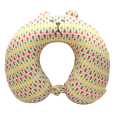 C3828-24  Florist Sloth Neck Pillow