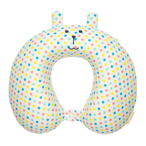 C3838-2  Ete Dot Rab Neck Cushion