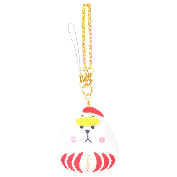 C740-2 Daruma Sloth Craft Charm