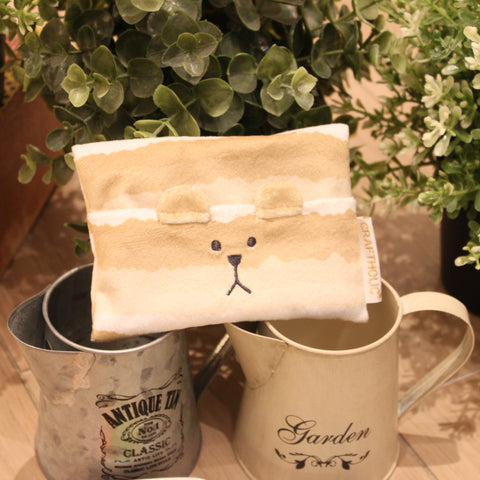 C12145-28  Tea Party Sloth Tissue Pouch