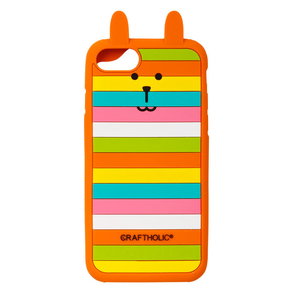 J1017-01  Rainbow Rab Iphone 7 Case