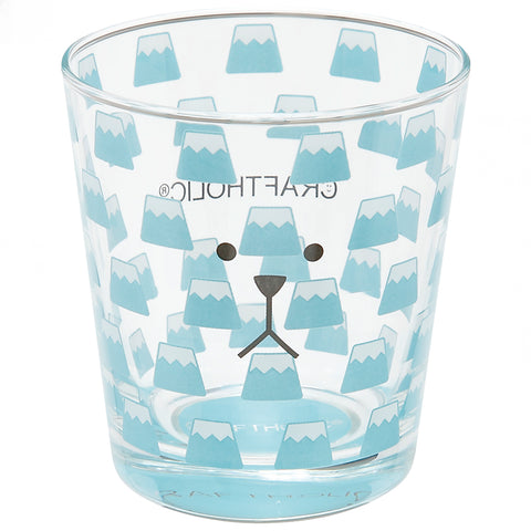 K1849-20  Fujisan Sloth Soda Glass