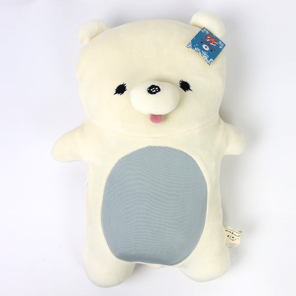 P0236-1  MOCHIKUMA ICE CUSHION 38 x 25.5 Milk