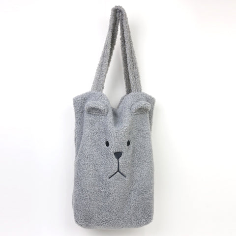 SG1313-2 MOCO SLOTH GRAY A4 TOTE BAG - Sale 40%