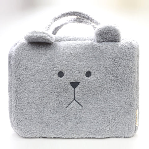 SG1913-2 MOCO SLOTH GRAY TRAVEL BAG - Sale 40%