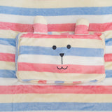 SG3359-1  Cafe Rab Cushion Blanket