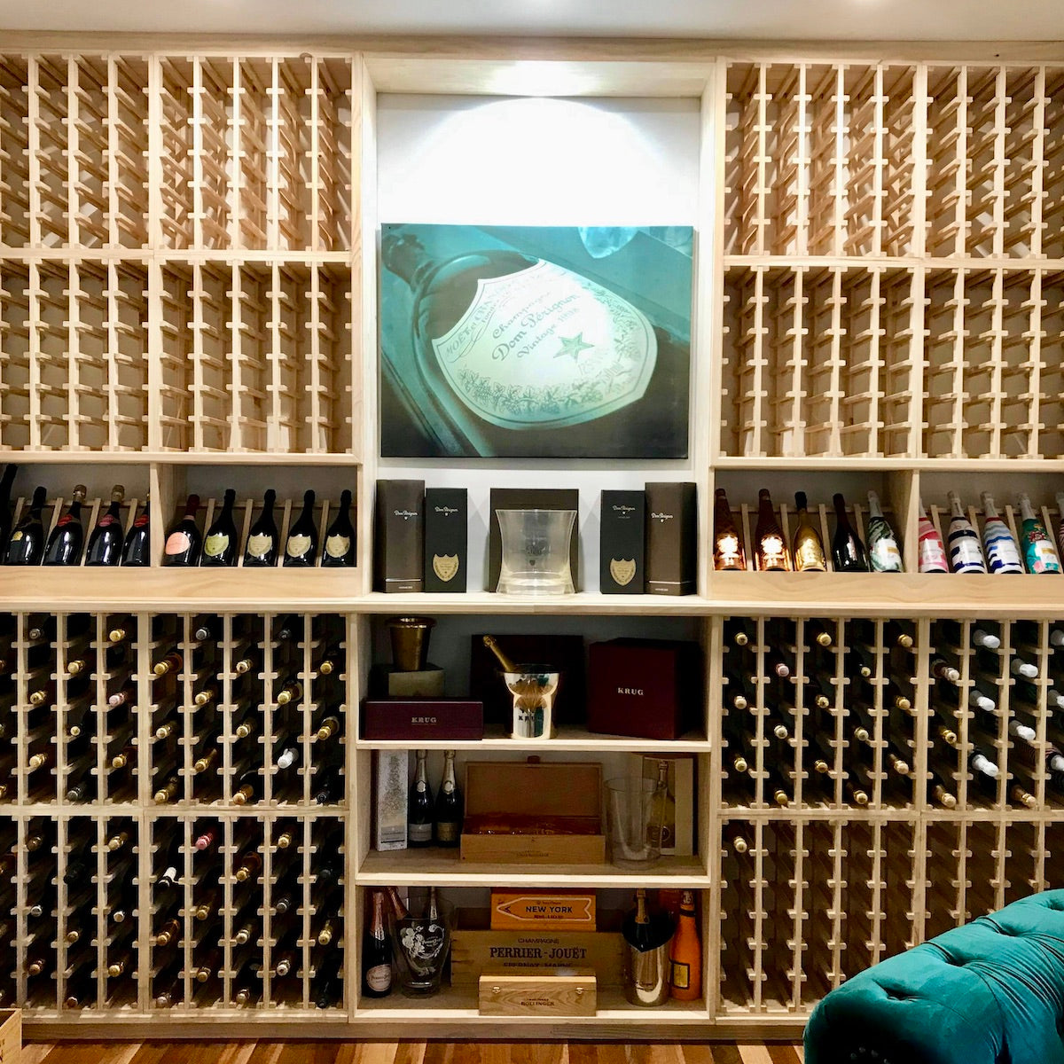 Wine Stash Cellar Kits - Made from 100% Sustainably sourced New Zealand Timber. Assembled by hand here in Australia. Available in a range of different wine rack sizes and styles and colours.