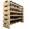 100 Bottle Modular Wine Rack