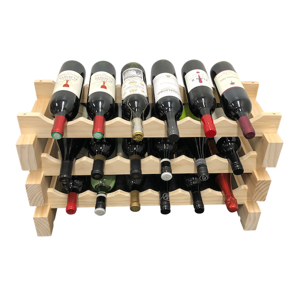 Wine Stash Modular Solid Timber Wine Racking
