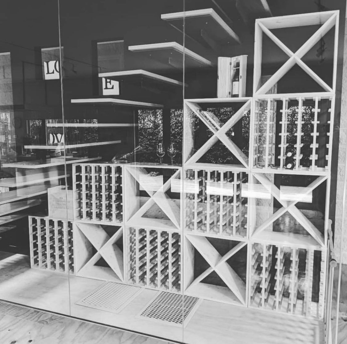 Glass Pallets & UV Tinting now available for your Wine Cellar at Wine Stash