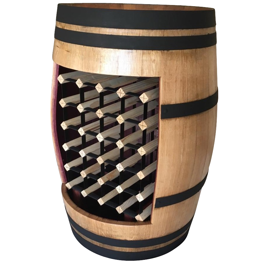 Wine Barrels and wine storage at Wine Stash