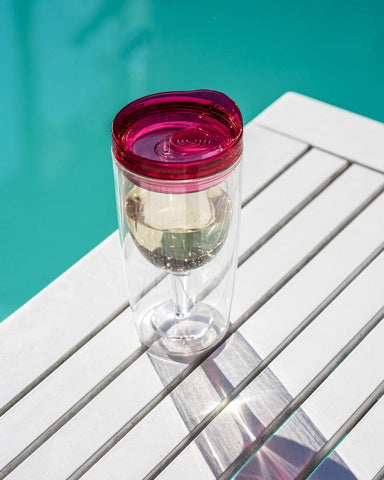 Spill Proof Portable Wine Cup