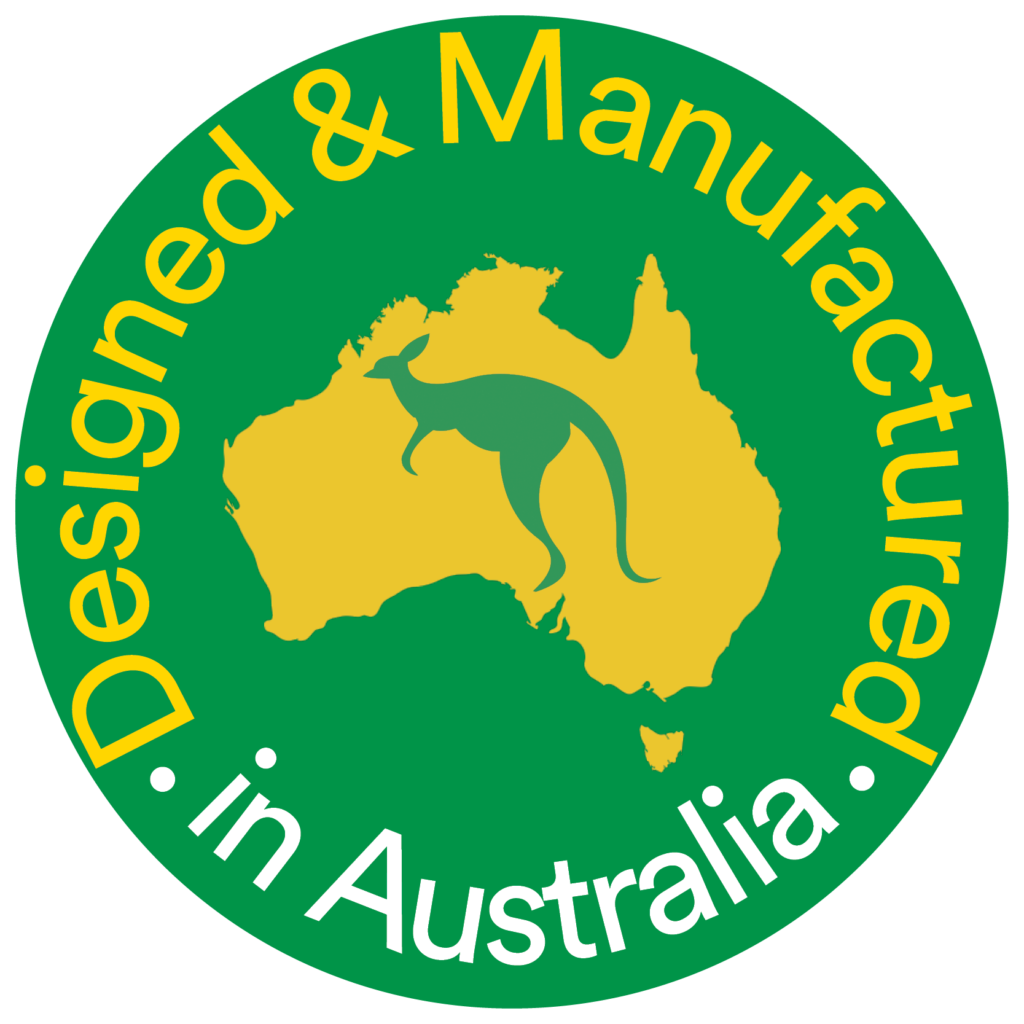 Designed & Manufactured in Australia