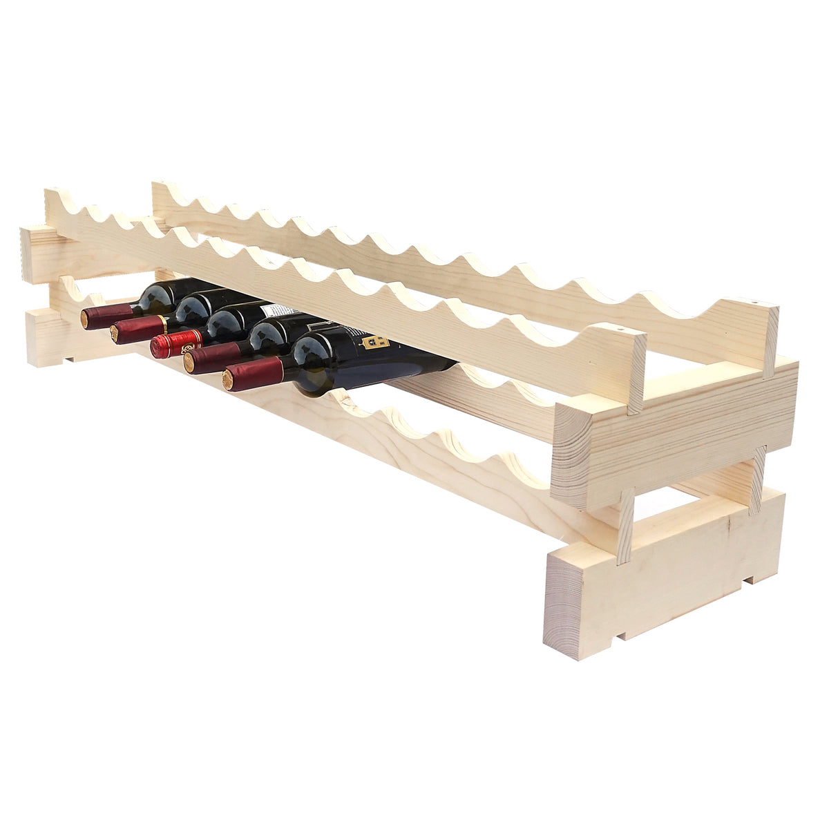 24 Bottle Modular Wine Rack