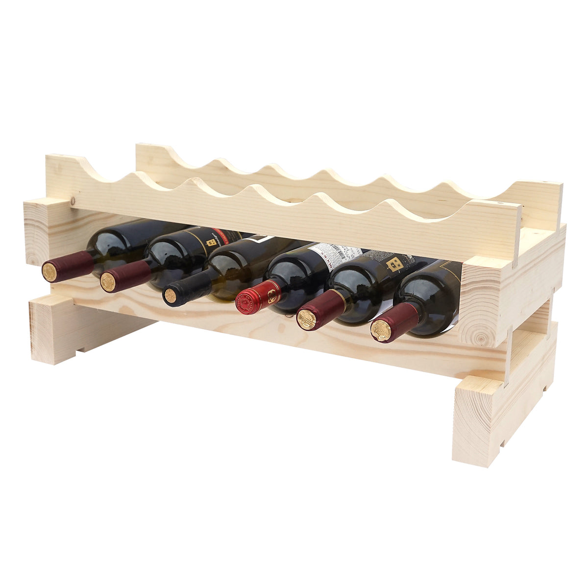12 Bottle Modular Wine Rack