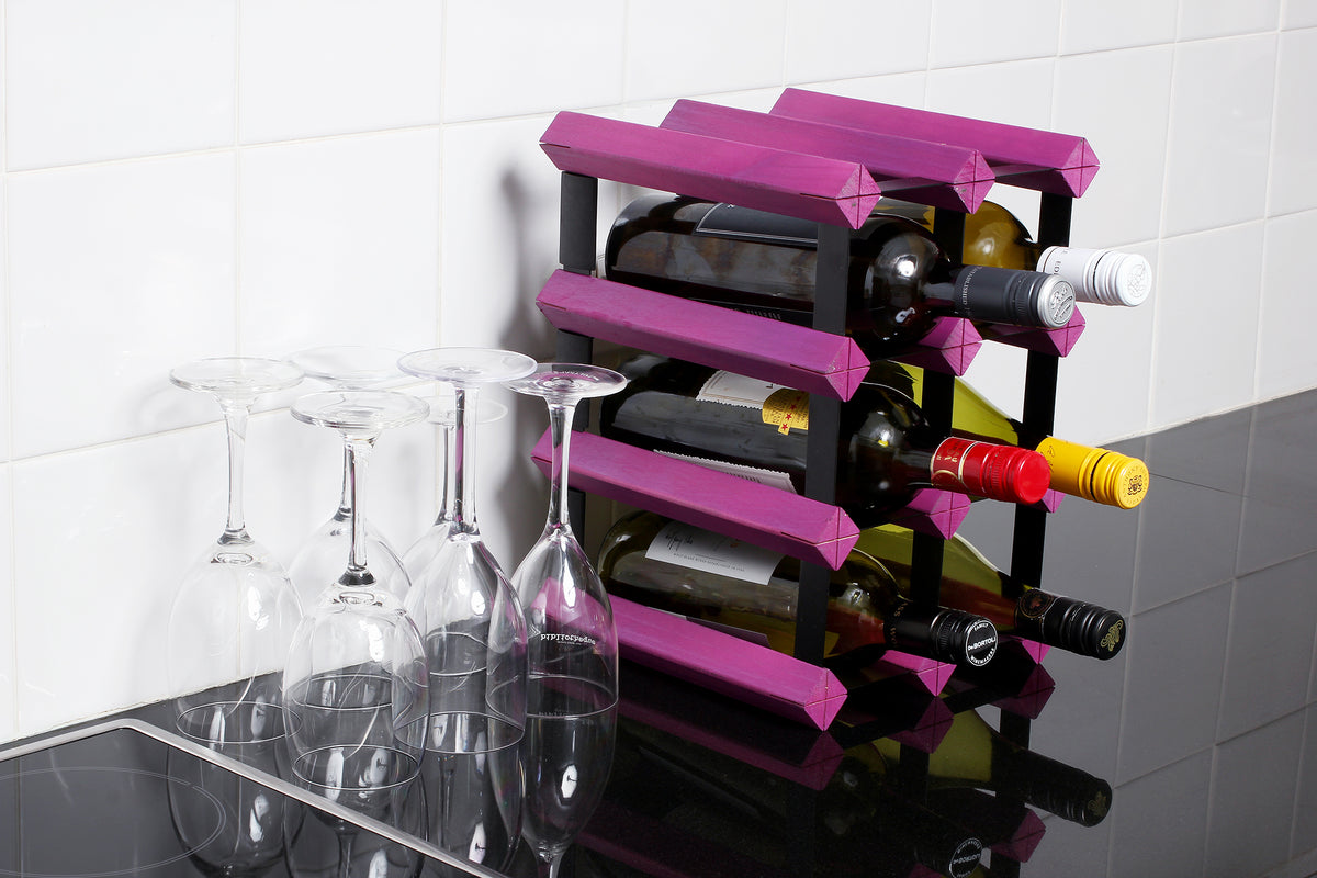 Engraved Wine Racks