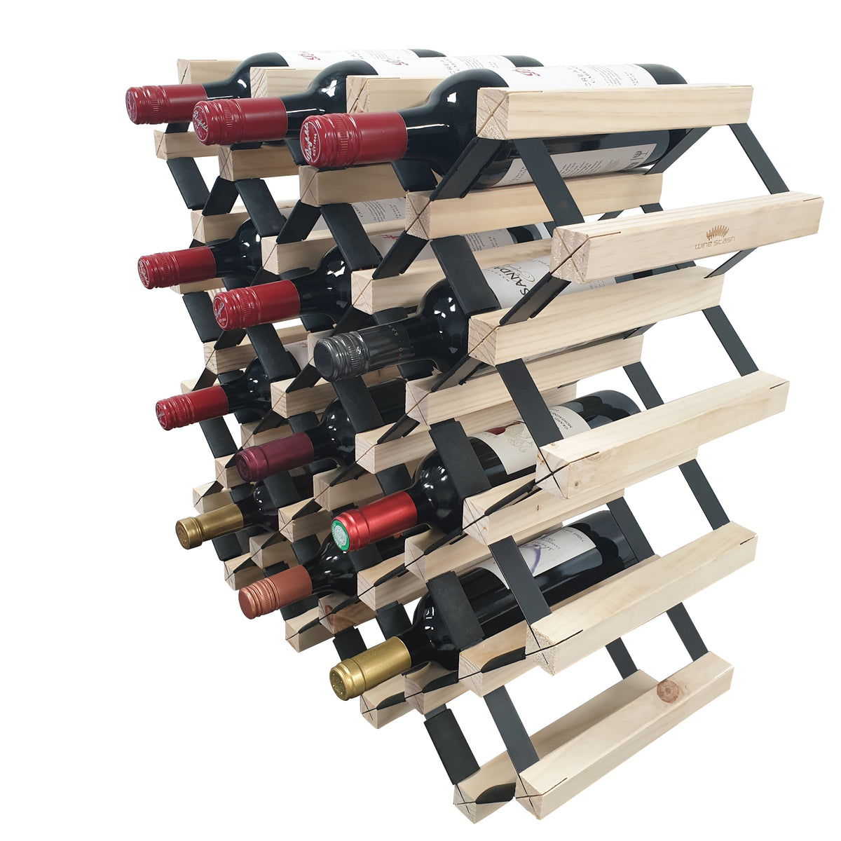 Timber Wine Racking for Corporate Gifts