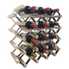 Diagonal Timber Wine Rack