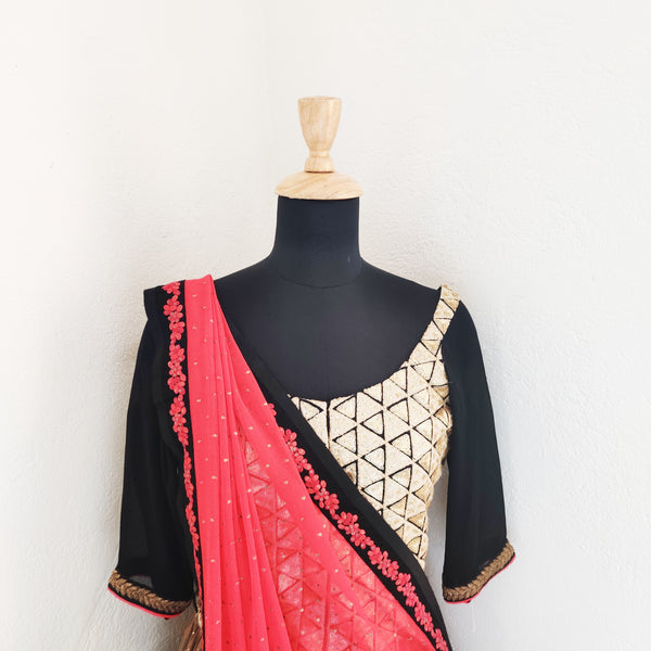 Lehenga top - anarkali - milk design shop