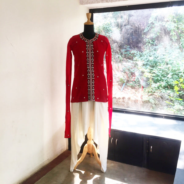 Kurta dhoti - anarkali - milk design shop