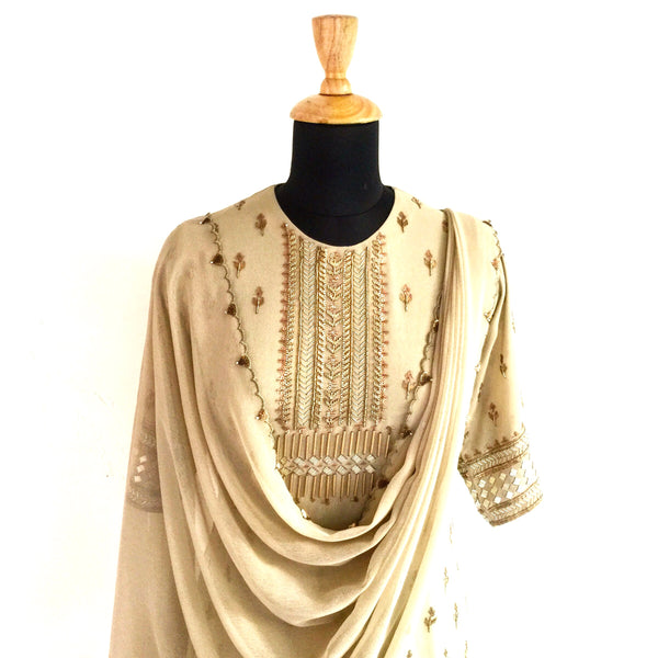 Sharara kurti - anarkali - milk design shop