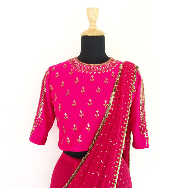 Saree - anarkali - milk design shop