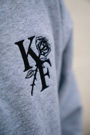 KF ROSE SWEATER (gray)