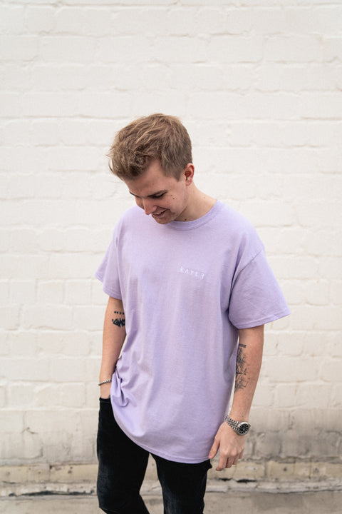 KAYEF LOGO SHIRT (pastell purple)