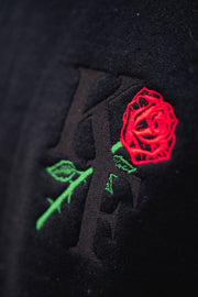 KF ROSE SWEATER (black)