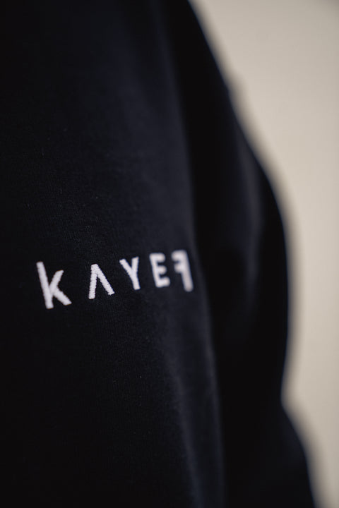 KAYEF BASIC HOODY (black)