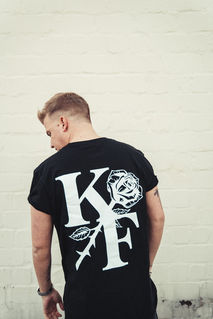 KF ROSE SHIRT (black)