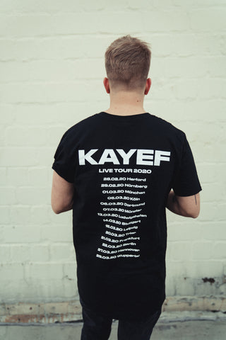 KAYEF LIVE 2020 TOUR SHIRT (black)