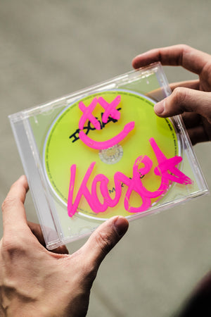 KAYEF – IDGAF Mixtape CD