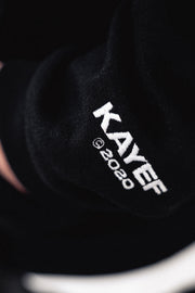 KF ROSE ZIP-HOODY (black)