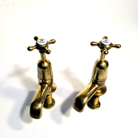 Edwardian George Gennings bath taps