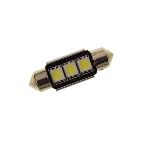 39MM 3 LED CANBUS Festoon Bulb - Aurora Bulbs