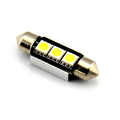 36MM 3 LED CANBUS Festoon Bulb - Aurora Bulbs